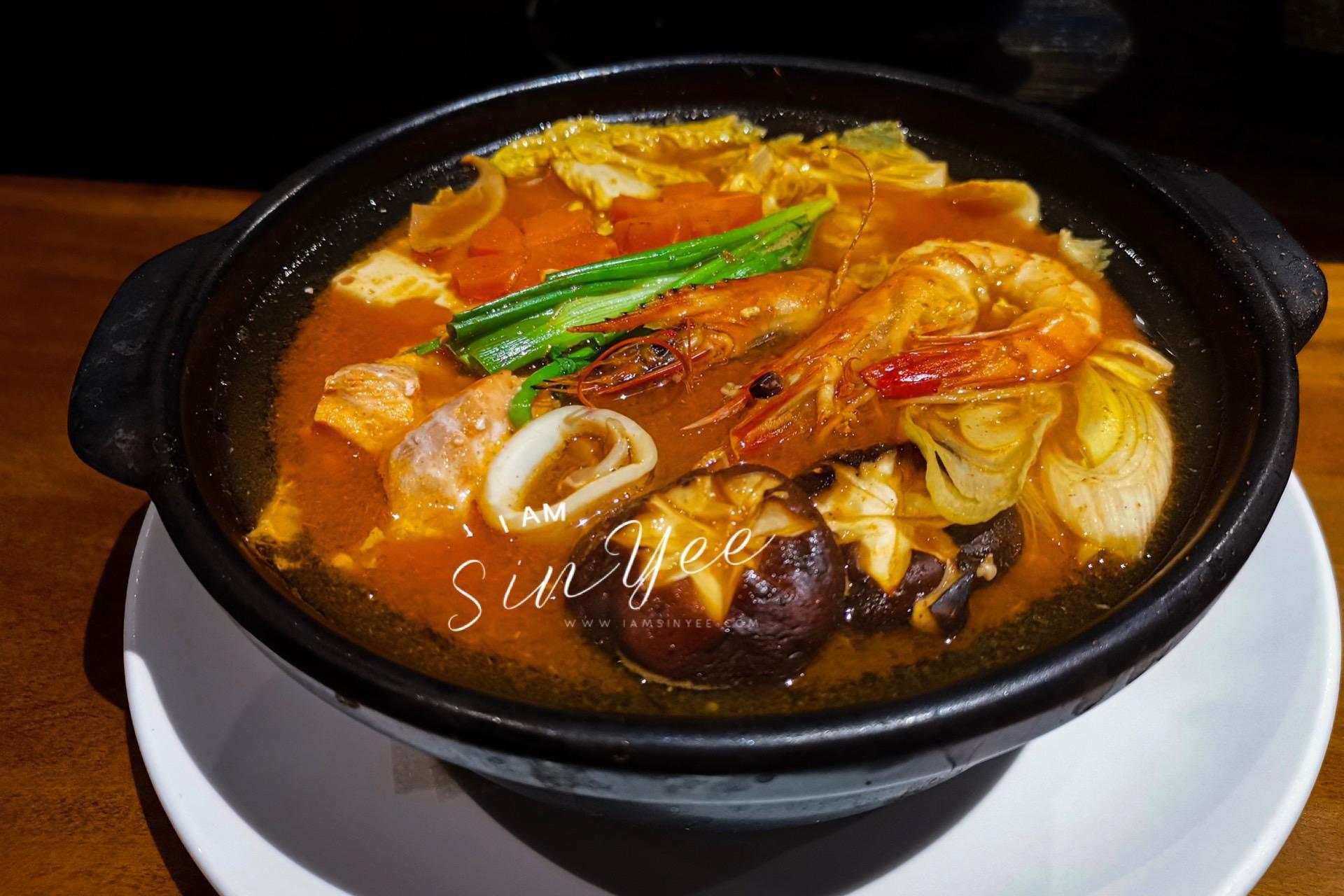 Seafood Kimchi Nabe @ RM41