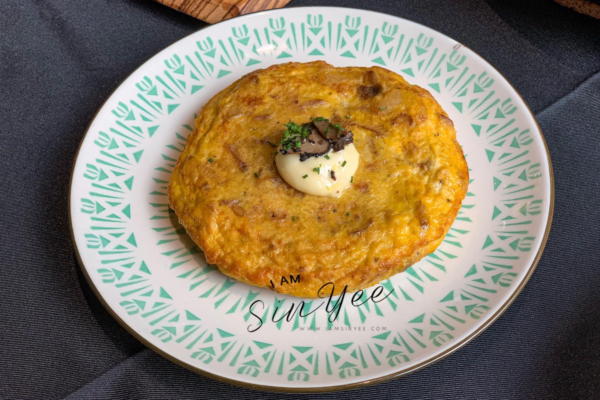 Tortilla De Patatas Con Alioli De Trufa @ RM25